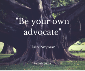 how to be your body's own advocate